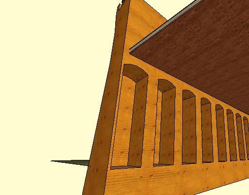 ArchiSottoCortile - Vista 3D - DaCortileContrafforti